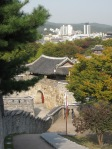 korea suwon hwaseong fortress - into the distance